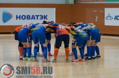 Пензенская «Лагуна-УОР» выиграла регулярный чемпионат России по мини-футболу