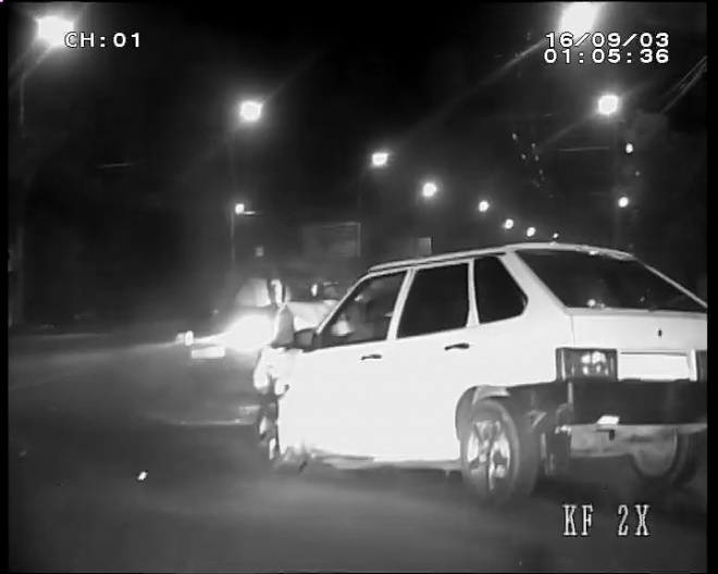 Нетрезвый лихач протаранил машину ДПС вПензе