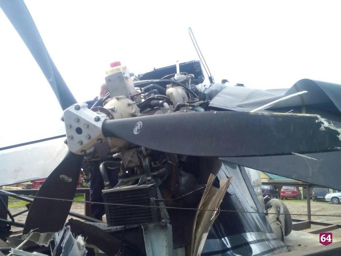 Разбившийся под Саратовом самолет несвязан сПензенской областью— генпрокуратура