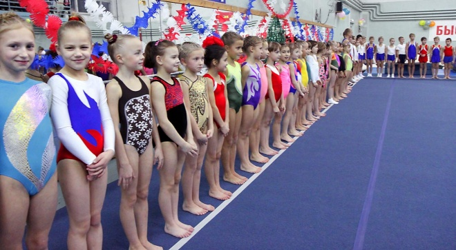 Прическа на соревнование по спортивной гимнастике