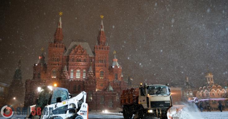 «Оранжевый» уровень погодной опасности объявили встолице на1марта
