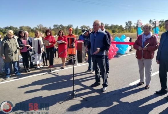 ВШемышейском районе торжественно открыта дорога кМордовской Норке
