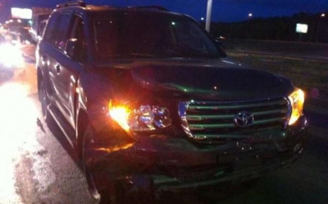 ВЗаречном нетрезвый шофёр навнедорожнике помял 13 машин