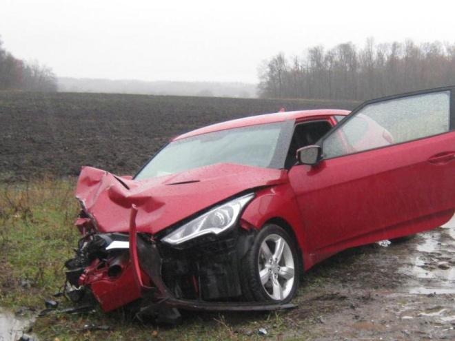 Натрассе под Пензой всмятку разбились ВАЗ-2113 и«Hyundai Veloster»