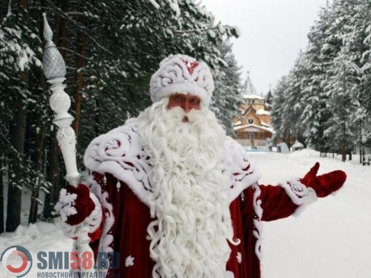 ВПензе открыли Дом Деда Мороза иназвали режим его работы