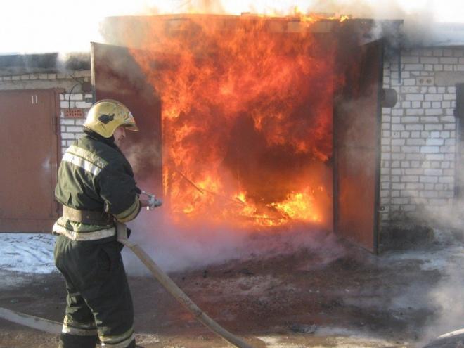 ВПензе впожаре умер мужчина