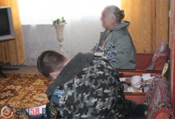 ВНикольске бродяга обокрал дом 81-летней пенсионерки