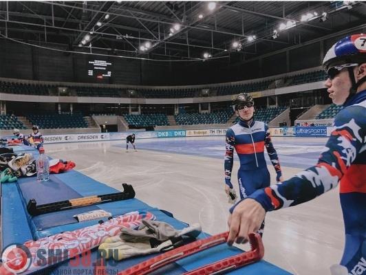 Житель россии  Елистратов завоевал сереброЧЕ пошорт-треку надистанции тысяча  м