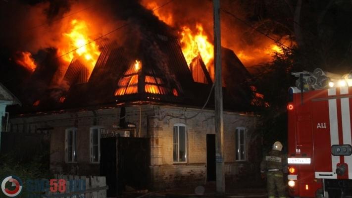 Пожар наулице Львовской вПензе тушили 19 человек