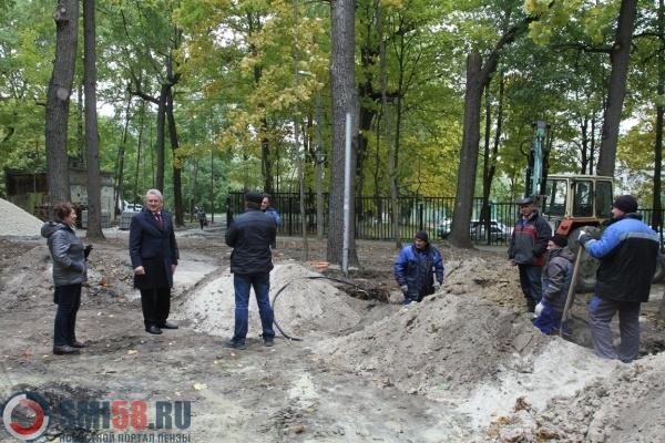 Иван Белозерцев поручил активнее благоустраивать зону отдыха наЗападной Поляне