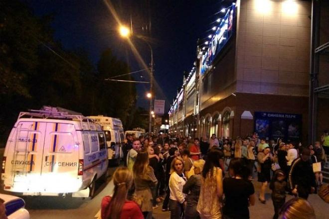 ВПензе ночью оцепили торговый центр из-за угрозы взрыва