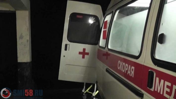 Под Пензой шофёр иномарки умер вДТП