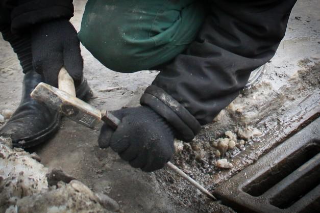 Безработный гражданин  Пензы покусился на местные  ливневки