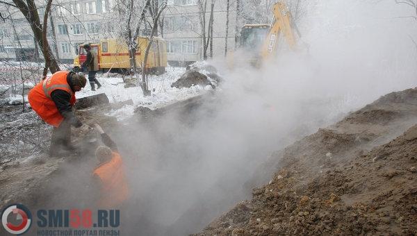 Тепло вдомах на дорогах  Гладкова иВолодарского появится до18:00