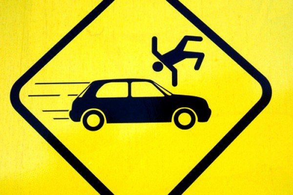 ВКаменке шофёр  задавил пешехода и исчез  сместа ДТП