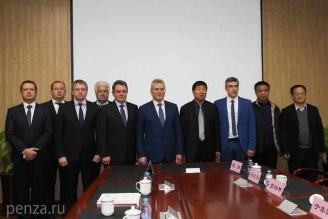 Иван Белозерцев встретился сЧрезвычайным иПолномочным ПосломРФ вКитайской республике