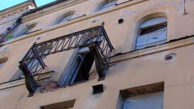 ВПензе проведут проверку пофакту падения балкона