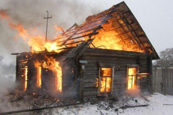 Вселе Соломинка впожаре умер пенсионер