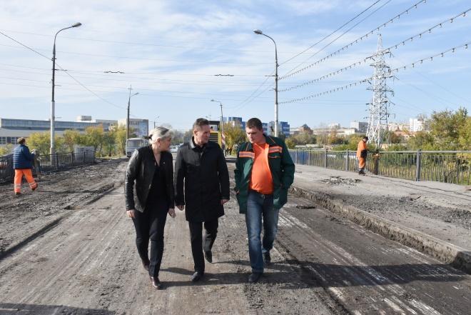 Свердловский мост вПензе закроют понадежнее