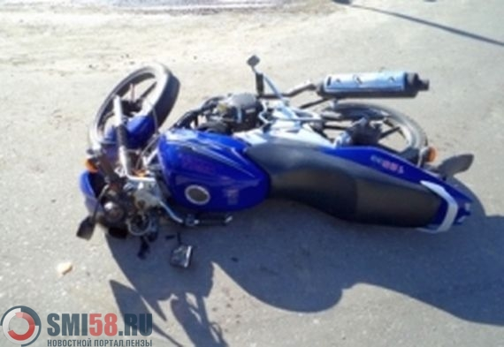ВДТП смотоциклом вПензенской области пострадал ребенок